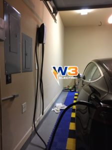 EV charger installation electric vehicle charging W3 Electric